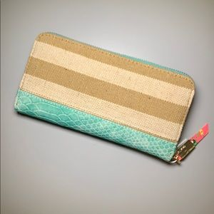 Deux lux Baha zipper wallet